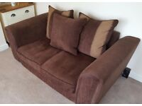 Large 2 Seater DFS Sofa With Matching Chair! Can Deliver!