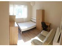 Great sunny big double room in clean & quiet flat!!!!! zone 1 All bills included