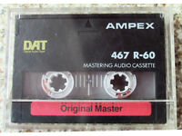 COLLECTION OF DIGITAL AUDIO TAPES (DAT)