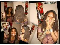 PROFESSIONAL DREADLOCKS 20YR EXP NATURAL EXTENSIONS SYNTHETIC MAKING FIXING TIDY UP DREADS UK