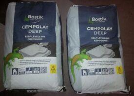 2 x 20kg Bostik Cempolay Deep Self Levelling Compound