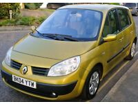 RENAULT MEGANE SCENIC 2004 1.4 MANUAL LOW MILEAGE CHEAP INSURANCE CLEAN CAR