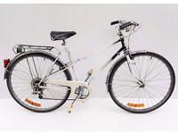 vintage ladies Finnish Nopsa town bicycle