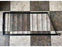 Ladderax Black Metal Ladder 14x34 inches Staples Shelving.