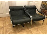 Retro Pieff 1970's swivel chair and arm chair- collect po15