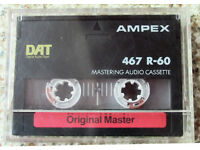 COLLECTION OF DIGITAL AUDIO (DAT) TAPES
