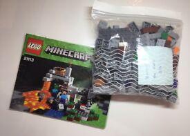 Lego Minecraft 21113, 21115, 21118