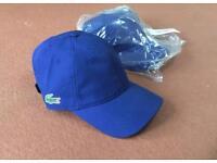 Lacoste blue cap, brand new, genuine, authentic