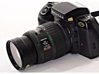Pantex SF7 35mm AF SLR Film Camera + Pantex 35-135mm F3.5-4.5 AF Lens