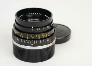 Leica 35mm f2 Summicron-M 6-Element Ver.3 Very Near Mint!