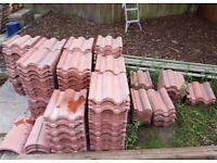 NEW Redland Regent roof tiles £1 per tile concrete roof tile ridge tiles