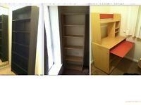 Bookcase + Bookshelf + Office Desk for sale Urgent