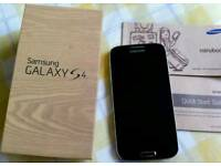 SAMSUNG S4 / 02 NETWORK / VERY VERY GOOD CONDITION COMES IN THE BOX/ FOR SALE OR swaps