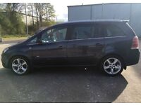 2007 (57) VAUXHALL ZAFIRA SRI 1.9 CDTI - 7 SEATER, LOW MILEAGE, NICE COLOUR, NEW MOT