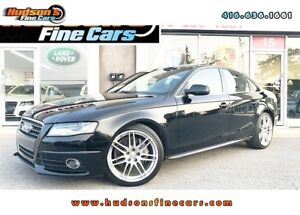 2012 Audi A4 2.0T Premium S-LINE|LEATHER|SUNROOF|ACCIDENT FREE