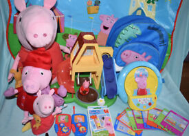 HUGE PEPPA PIG BUNDLE - USED