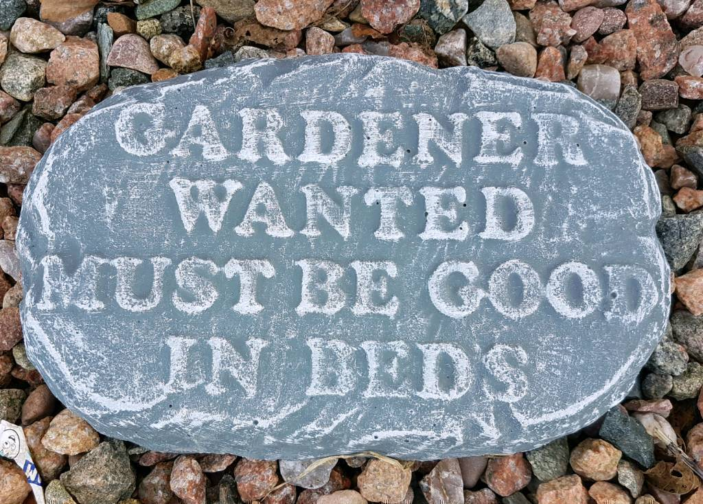Concrete Funny Garden Signs Ornaments