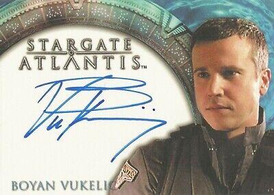 "Stargate Atlantis Season 1 - Boyan Vukelic ""Sgt Stackhouse"" Autograph Card"