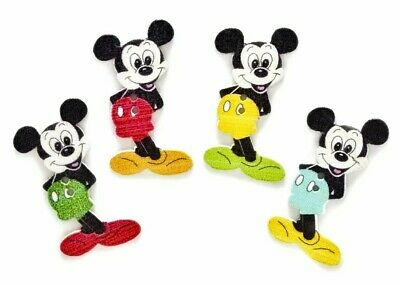 10PC Mickey Mouse Wood Buttons 1.34