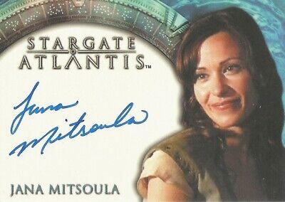 "Stargate Atlantis Season 1 - Jana Mitsoula ""Allina"" Autograph Card"