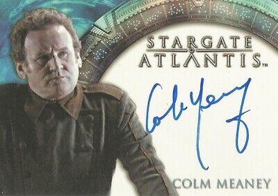 """Stargate Atlantis Season 1 - Colm Meaney """"Cowen"""" Autograph Card"""