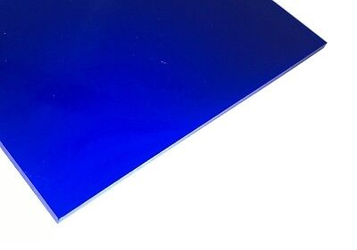 2114 Blue Acrylic Sheet Plexiglass Equiv 18 X 24 X 6mm 14 Thick Nominal