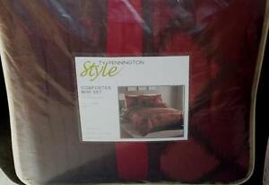 Ty Pennington Style Comforter Mini Set - Full/Queen - BRAND NEW IN PACKAGE
