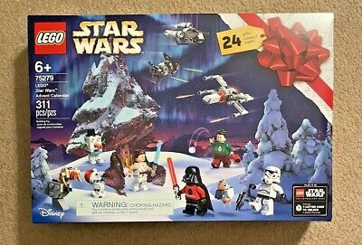 Lego Star Wars Advent Calendar 2020 Christmas Countdown 311 Pieces New 24 Gifts