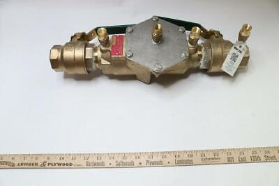 Watts 0063234 Double Check Valve Assembly 1-1/2