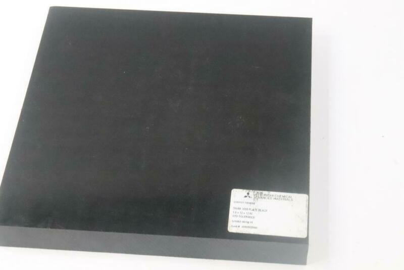 "QTY 7 - MITSUBISHIT CHEMICAL ADVANCED MATERIALS TIVAR 1000 BLK 1.5"" X 12"""