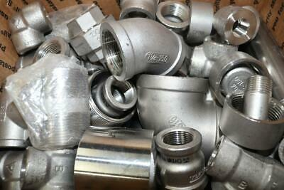 39 Lbs - Assorted Fittings - Stainless Steel