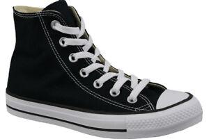 54bab5abd7af5a Converse Chuck Taylor All Star Hi M9160 Classic Black White Trainers ...
