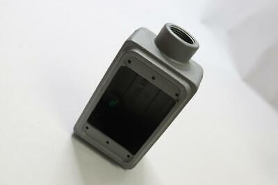 Appleton Cast Device Box Fs 1 Gang Malleable Iron Shallow 34 Hub Fs-1-75