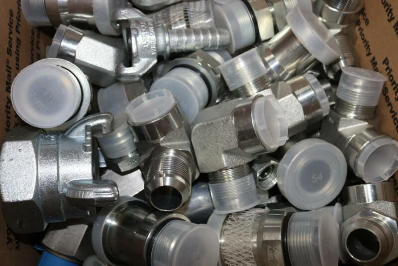 44 LBS - ASSORTMENT OF HYDRAULIC FITTINGS