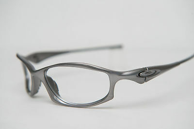NEW Oakley Hatchet Silver Frames Prescription Sunglasses Eye Glasses