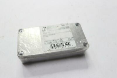 Qty 2 - Hammond 1590l Aluminium Enclosure Diecast Box 4 X 2 X 1