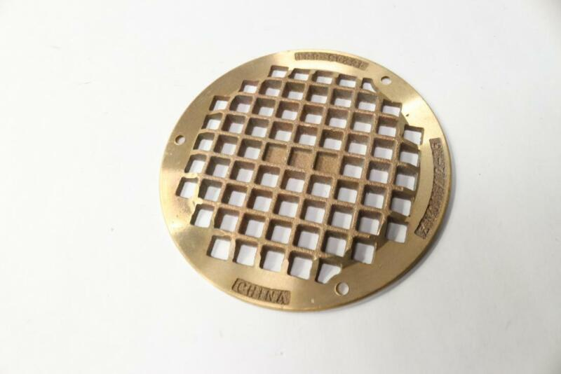 """Zurn 41J516 5"""" Bronze Round Drain Strainers"""