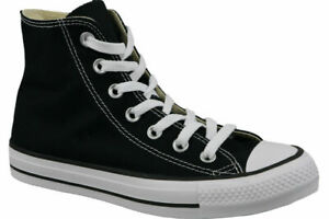 Converse Chuck Taylor All Star Hi Shoes Black M9160c Sneaker Trainers UK 8.5
