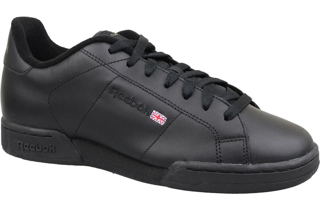 7bbd913a8a13 Reebok Classic NPC II Shoes Men s SNEAKERS Trainers Black 6836 WOW ...