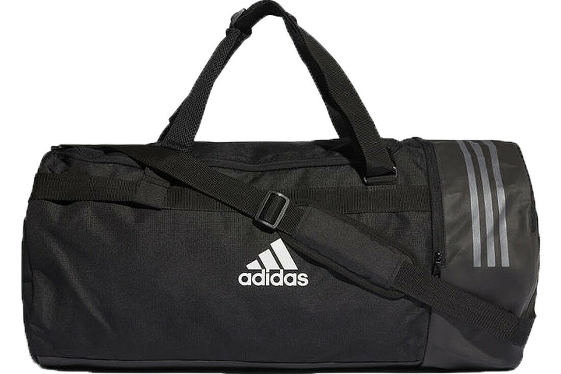 new arrival 29462 704a4 adidas Convertible 3s Duffel Bag S CG1532 Black for sale online   eBay