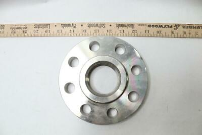 Pack Of 1 - Threaded Stainless Steel Flange 2 Raised Face Pipe Flanges