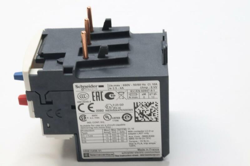 SCHNEIDER ELECTRIC LRD08 OVERLOAD RELAY