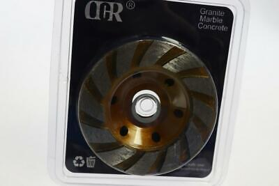 Ocr Tm 4 Concrete Turbo Diamond Grinding Cup Wheel For Heavy Duty Angle Grinder