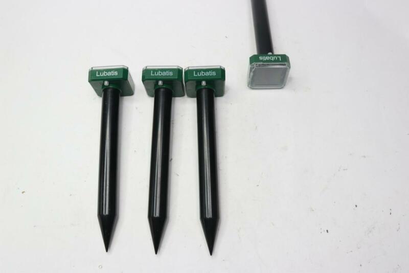 Lubatis Solar Mole Repellent Spikes - 4 Pack