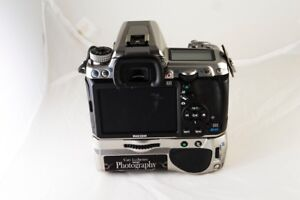 Pentax K3 body and battery grip