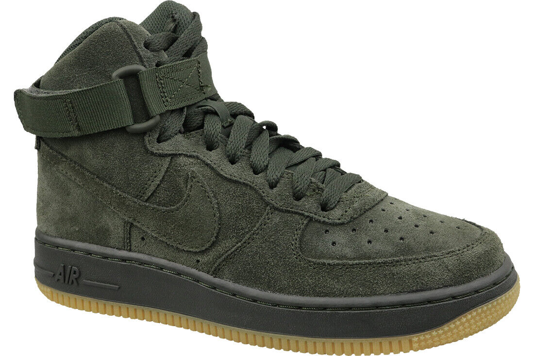 cheaper ac357 3f7b4 Nike Air Force 1 High Lv8 GS 807617-300 Green for sale online   eBay