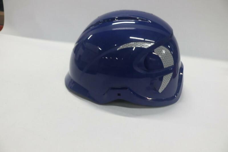 MSA 10186478 Nexus Linesman Non-Vented Climbing Helmet Blue