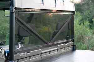 Polaris Ranger Full Size 570 XP 900 1000 Rear Windshield Back Window Dust Panel