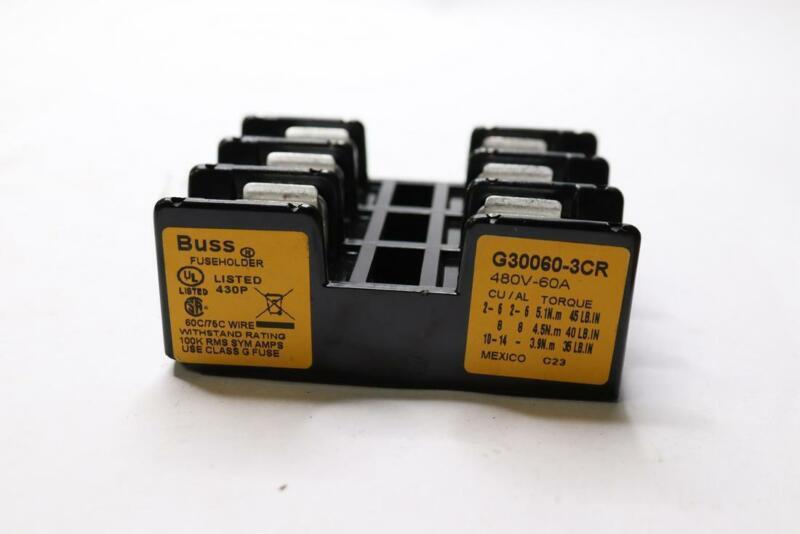 Bussmann G30060-3CR Fuse Holder 480V-60A