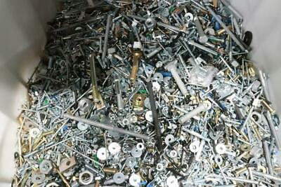 10 Lbs Bulk Assorted Loose Hardware Fasteners Nuts Bolts Screws Washers Etc